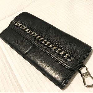 genuine leather b. makowsky wallet